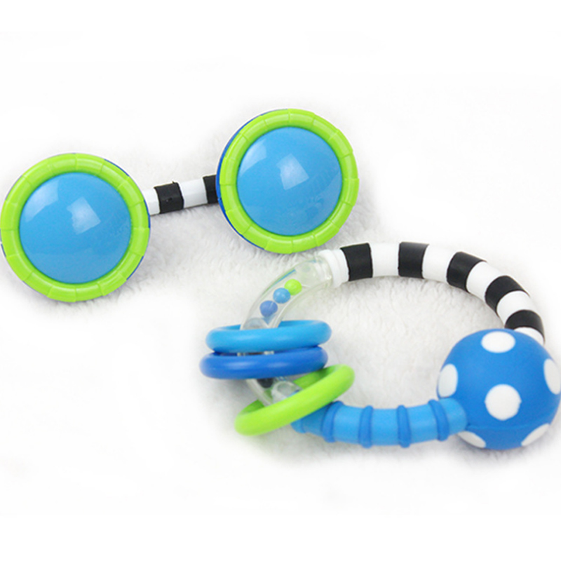 Mother & Kids Obliging Baby Toys Plastic Rattle Hand Jingle Shaking Phone Rattles Set Teether Appease Handbell S7jn
