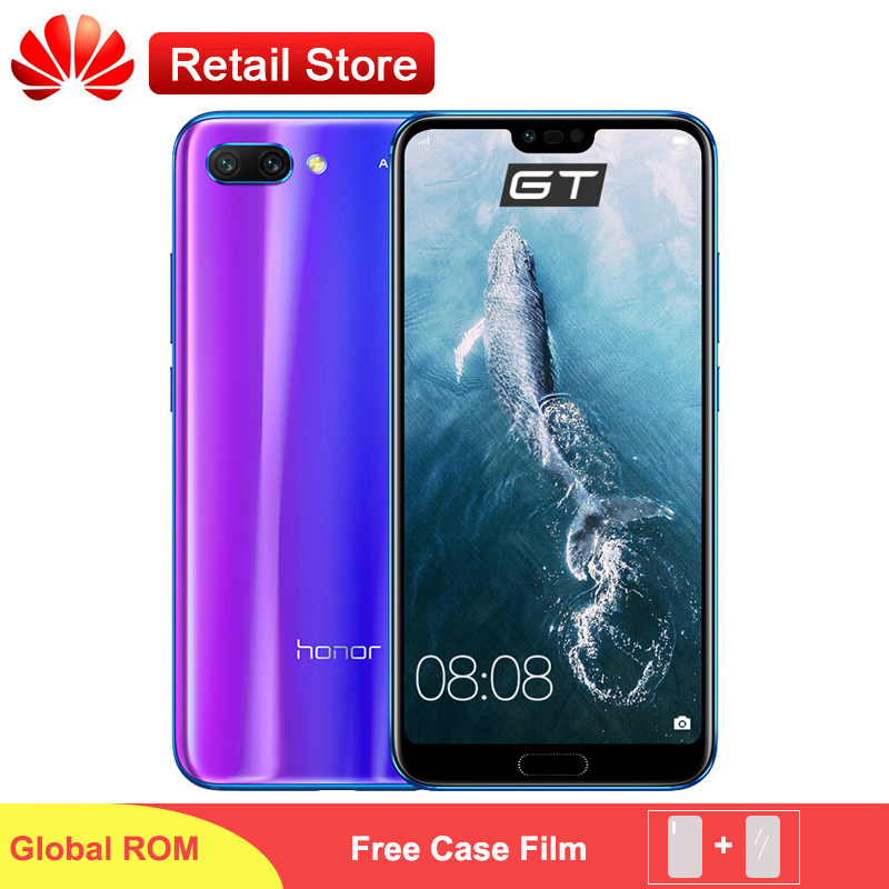 Honor 10 SmartPhone Global Version ROM 5 84 Kirin 970 Android 8 1 24MP AI Camera