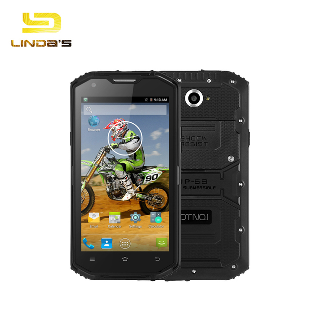 Original Waterproof DTNO.I X3 4G Smartphone Android 5.1 5.5'' MTK6735 Quad Core 1.0GHz 2GB 16GB 4500mAh IP68 Bluetooth Cellphone