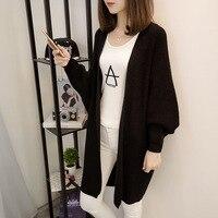 New Product Winter Women Cardigan Female Leisure Loose Coat Sobretudo Feminino Long Sweater Time Unlined Jumper