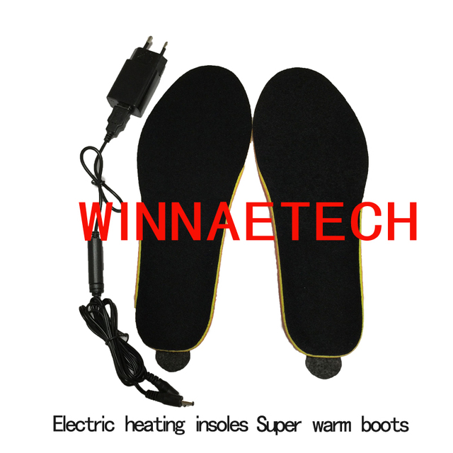 Electric heating  insoles  Free shipping warmer insoles Battery Powered  insoles 1900 ma China factory