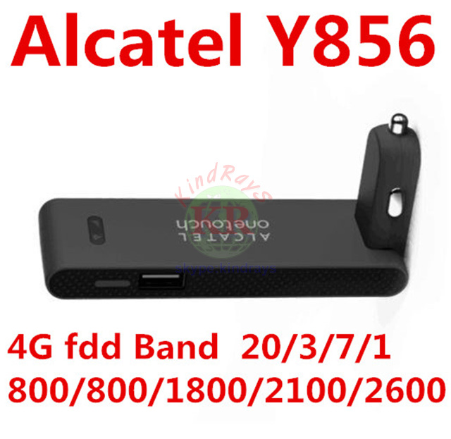 unlocked alcatel one touch Y856 y856V 4g car wifi router 4g cpe dongle 4g mifi router