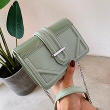 Women Designer Handbag 2019 Fashion New High quality PU Leather Women bag Contrast Lady Tote Shoulder Messenger Bag Crossbody #6