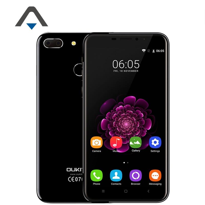 bilder für Original Oukitel U20 Plus 4G LTE Handy MTK6737T Quad Core 5,5 zoll 1080 P 2 GB RAM 16 GB ROM Android 6.0 Fingerprint Lager