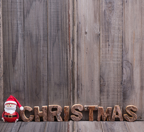 merry christmas wooden block letters backdrop wallpaper 5x7ft outdoor painted studio shop decor - Merry Christmas Decorative Blocks