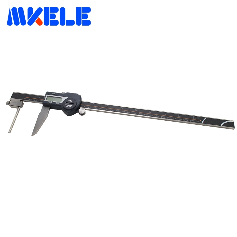 0-300mm LCD Digital Electronic Caliper Tube Thickness Digital Vernier Caliper Vernier Micrometer High-Accuracy Waterproof 0 300mm high accuracy digital electronic vernier caliper lcd micrometer digital caliper stainless steel ip54 waterproof