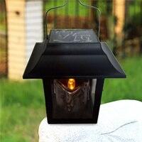 LAIDEYI LED Güneş Enerjili Lamba Açık Mum Fener Asmak Ev Bahçe Dekorasyon Işık Manzara Şemsiye Ağacı LED Fener