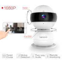 Lenovo WiFi IP Camera Snowman SR Wireless Mini HD 1080P Monitor PTZ Cctv Securi Video Surveillance