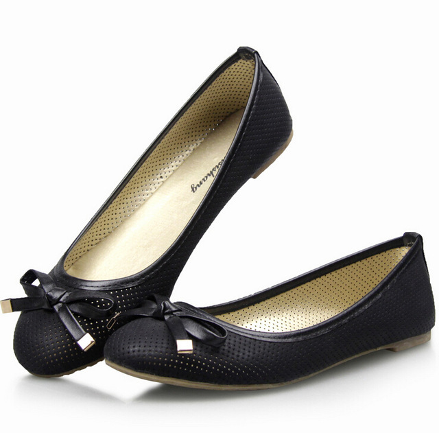 b3d173d8300f 2015 NEW EUR 35-41 PU Sweety Dress shoes for Lady and Women flat shoes    Black