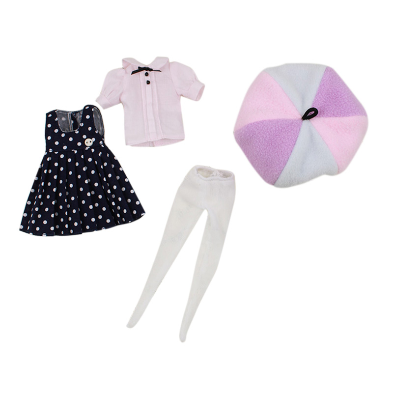 Blyth Doll Director Suit Hats Socks Skirts Shirts Suitable For Normal Azone Joint Body 1/6  Icy Doll