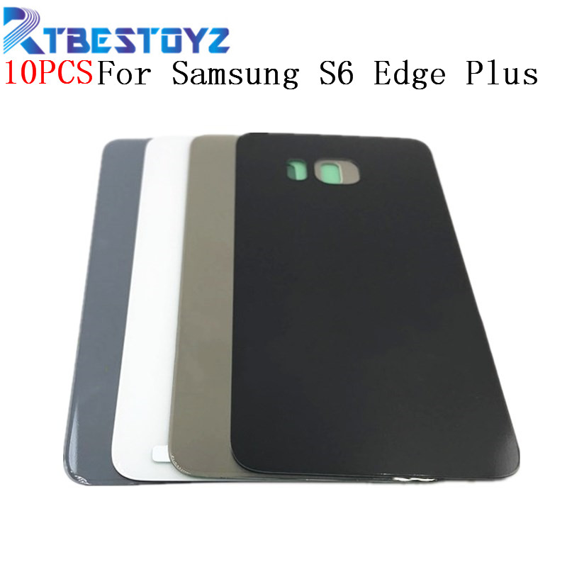 10pcs/lot Original Back Battery Cover Door Rear Glass Housing Case Battery Cover For Samsung Galaxy S6 Edge Plus G928 G928f