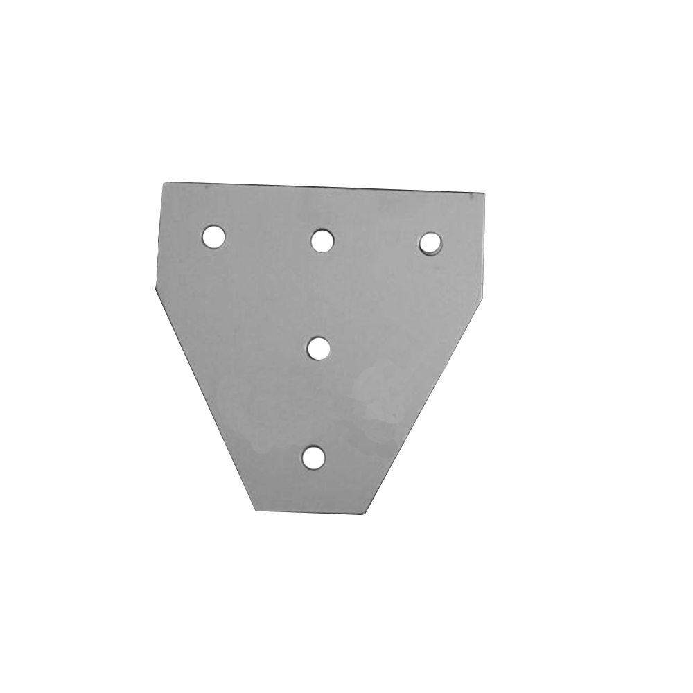 1pcs T Type 90 Degree Joint Board Plate Corner Angle Bracket Connection For Aluminum Profile 2020/3030 20x20/30x30 With 5 Holes