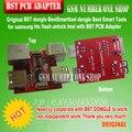 100% Original dongle BST BestSmarttool dongle las Mejores Herramientas Inteligentes para samsung htc flash de desbloqueo imei con BST PCB Adaptador + Free nave