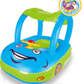 Baby Float Seat Автомобиль Тени Солнца Детские Надувные Пончик Плавать Кольцо Детские Резиновые Кругов Swimtrainer Flotador Плавание Аксессуары