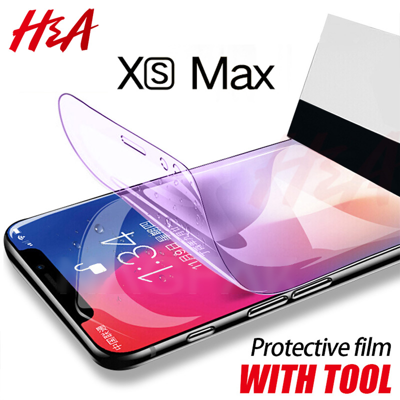 H&A 6D Full Curved Edge Screen Protector on the For iPhone X XR