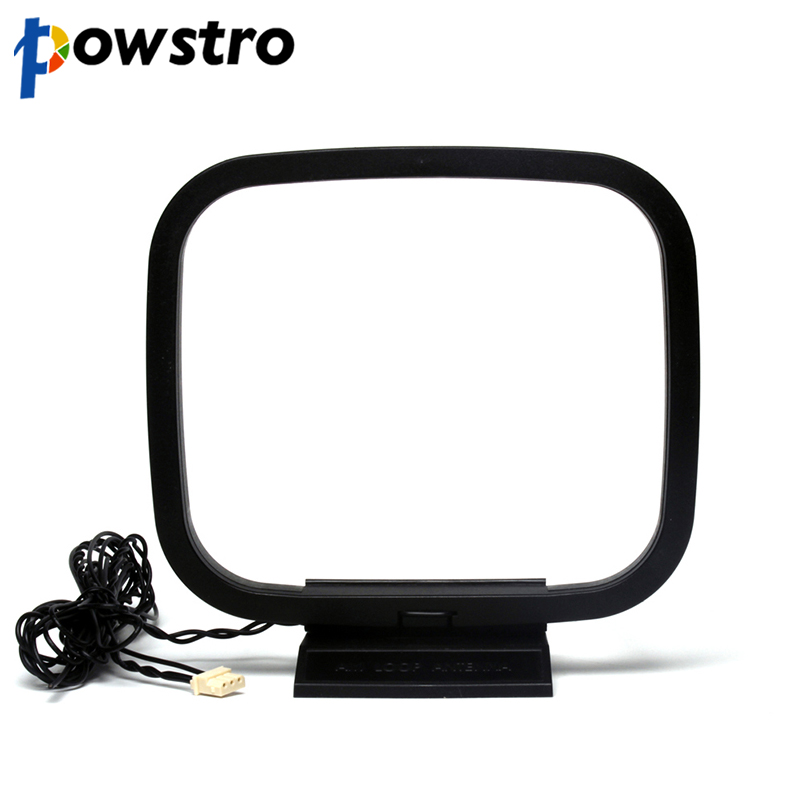 Mini Universal FM/AM Loop Antenna For Sony Sharp Chaine Stereo AV Receiver Systems With 3-Pin Mini  Connector Receiver