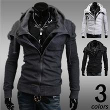 Assassins Creed Hot Sale 2016 New Coats Men Outwear Mens Special Hoodie Jacket Coat Sweatshirt Clothes Cardigan Style 3 Colors
