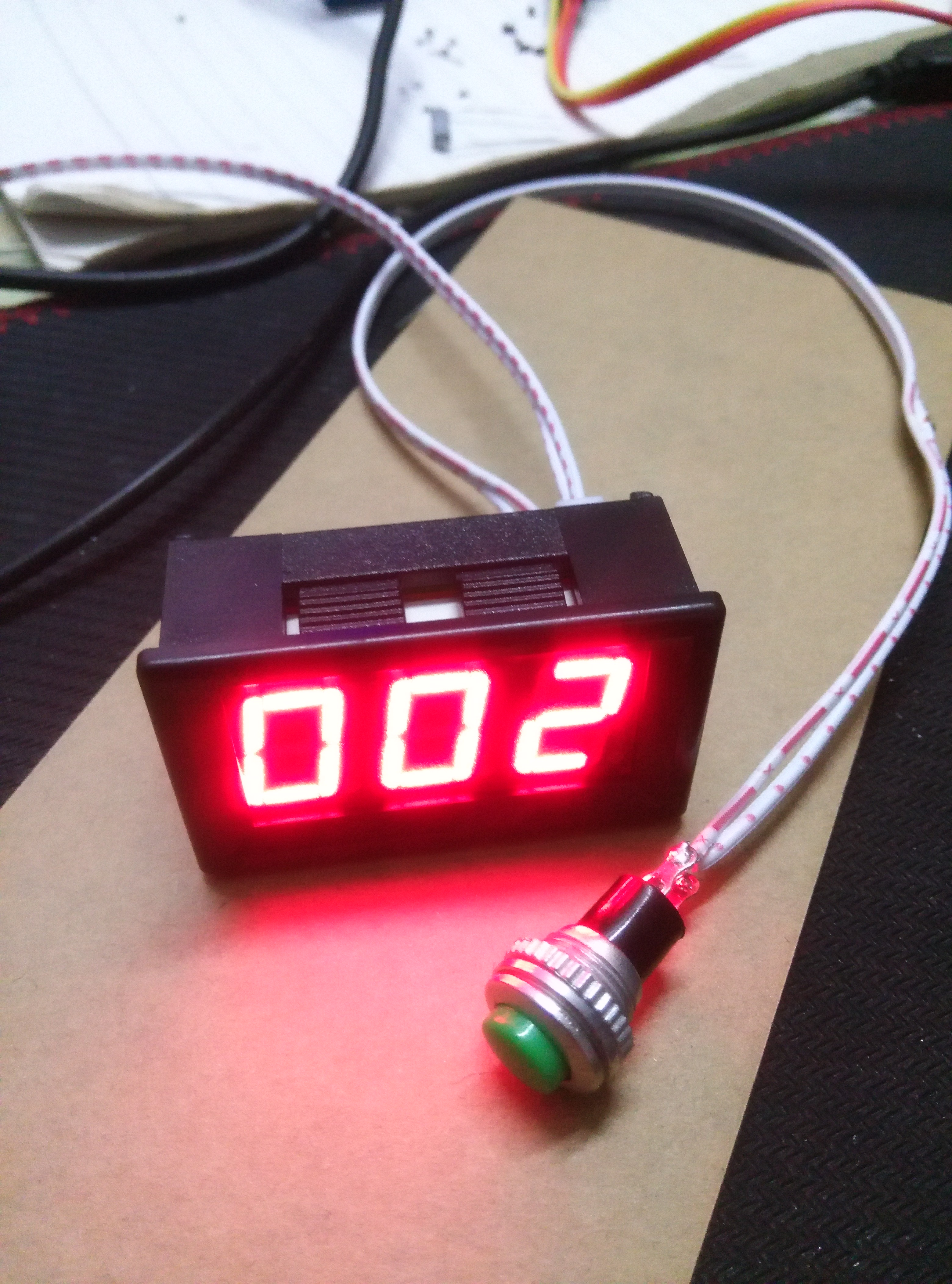 Electronic Counter /3 Bit 0.56 Digital Tube Display Gauge Head/pulse Count/packing Line Count