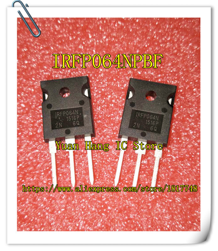 10PCS/LOT 100% NEW AND ORIGINAL IRFP064NPBF IRFP064N IRFP064 TO-247 BEST QUALITY