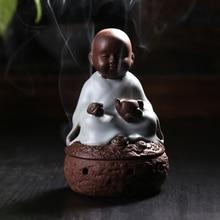 Zen tea blindly The young monk sweet fume furnace restoring ancient ways Your kiln porcelain teachers little novice
