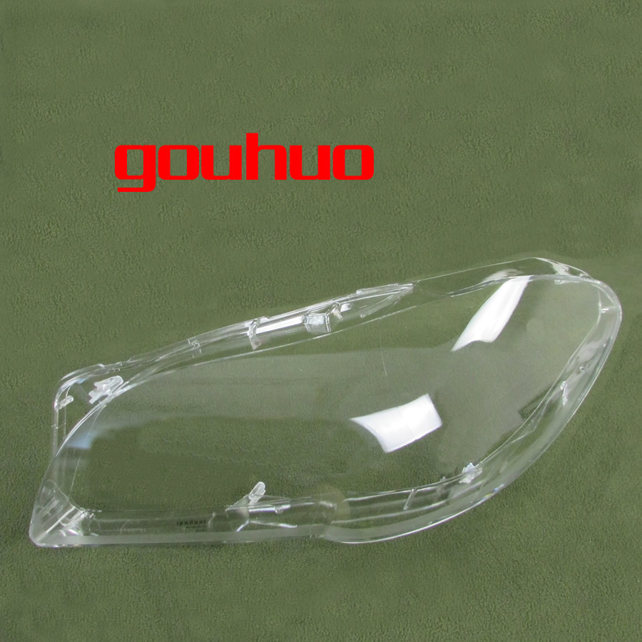 For 11 17 Bmw New 5 Series F18 F10 520 523 525 535 530  Front Lamp Shade Headlamps Transparent Lampshade Headlight Shell 2pcs