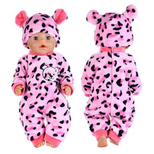 Doll-Clothes House Reborn Baby 18inch Suit Play Girls for with Cap 43cm Cock-Set Gift