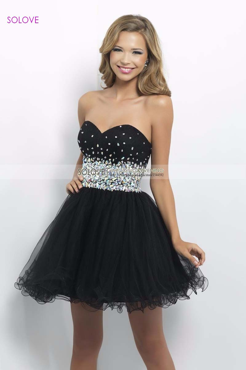 Compare Prices on Short Black Lace Prom Dress- Online Shopping/Buy ...