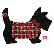 Набор ковриков с защелкой «Собака», вышивка ковров, иглы для ковров, вышивка фоамирана для рукоделия