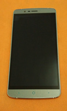 Used Original LCD Display +Digitizer Touch Screen+ Frame for Elephone P8000 5.5″ MTK6753 Octa Core 4 FHD1920 x1080 Free shipping
