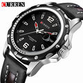 Curren Brand Hot Sport Watches Men Wristwatches Leather Strap Quartz Wrist Watches Men's Clock Male Xfcs Reloj
