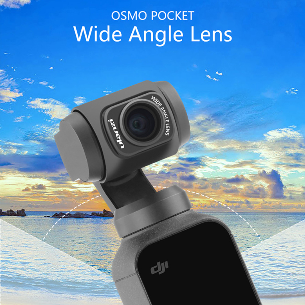 Ulanzi OP-5 Wide-Angle Lens for DJI Osmo Pocket, Professional HD Magnetic Structure Lens for Osmo Pocket Gimbal AccessoriesUlanzi OP-5 Wide-Angle Lens for DJI Osmo Pocket, Professional HD Magnetic Structure Lens for Osmo Pocket Gimbal Accessories