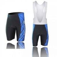 Men Cycling Ciclismo Shorts 3D Padded Bicycle Short Outdoor Sports Bike Bibs Pants Blue Strip