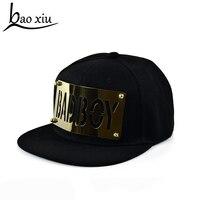 Fashion Summer Men Women Hat 2014 Letter Gold Baseball Cap Hip Hop Skating Gorras Snapback Caps