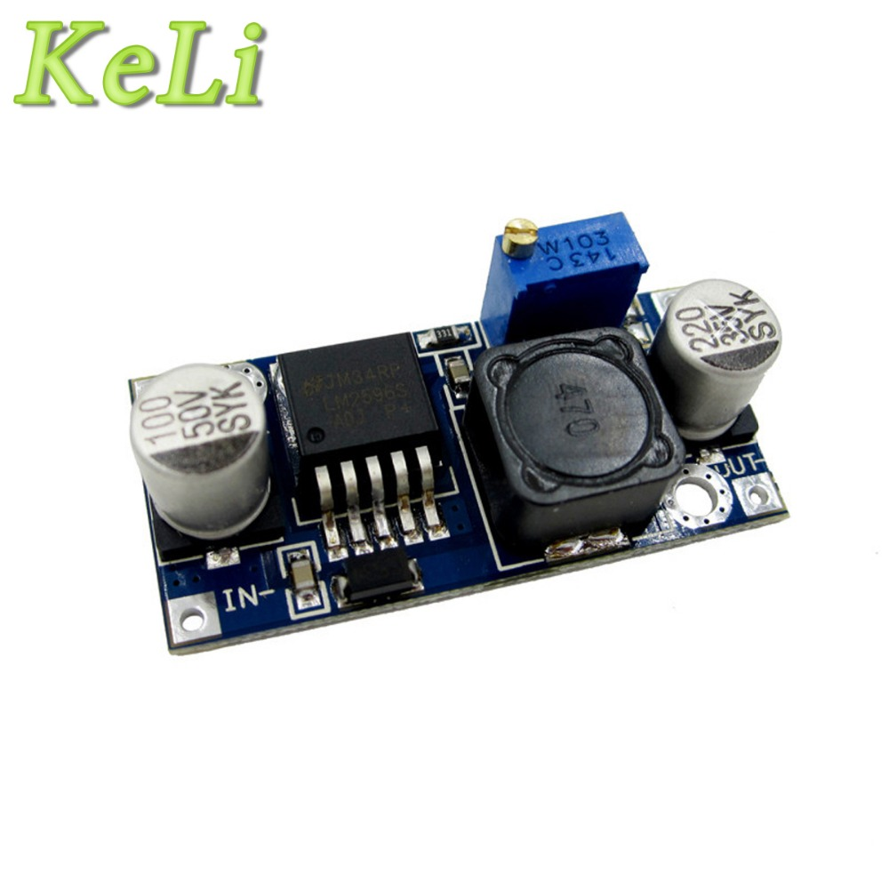 1pcs LM2596 LM2596S DC-DC 3-40V Adjustable Step-down Power Supply Module NEW
