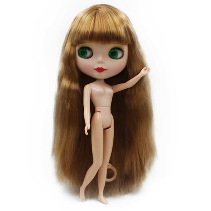 Blyth poupée BJD, usine néo Blyth poupée nue personnalisée dépoli visage poupées peuvent changer robe de maquillage bricolage, 1/6 balle articulée poupées 4