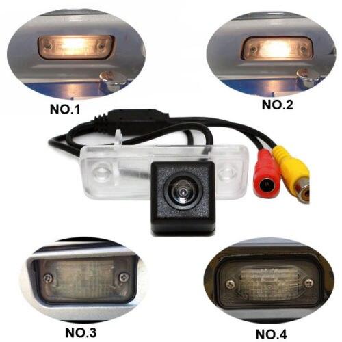 CCD de voiture caméra pour Mercedes Benz C/E/CLS/CLK/SLK/SL classe W203 C240 S203 C240 Limousine W211 SLK R171 CLK W209 W219 étanche HD