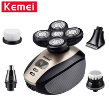 Kemei KM-1000 5 In 1 Electric Shaver for Men Floating Five B