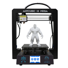 ANYCUBIC 3D Printer I3 Mega Frame 3.5″ TFT Screen impresora 3D Drucke DIY Kit with Ultrabase 1kg PLA filament 8G SD Card Gift