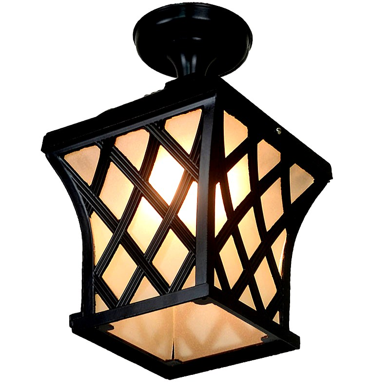Outdoor Light ceiling lamps waterproof garden lamp LED Yang outdoor porch porch corridor lamp Vintage Ceiling Lights full copper lamps and lanterns of american meals hanging lamp act the role ofing porch corridor lamp