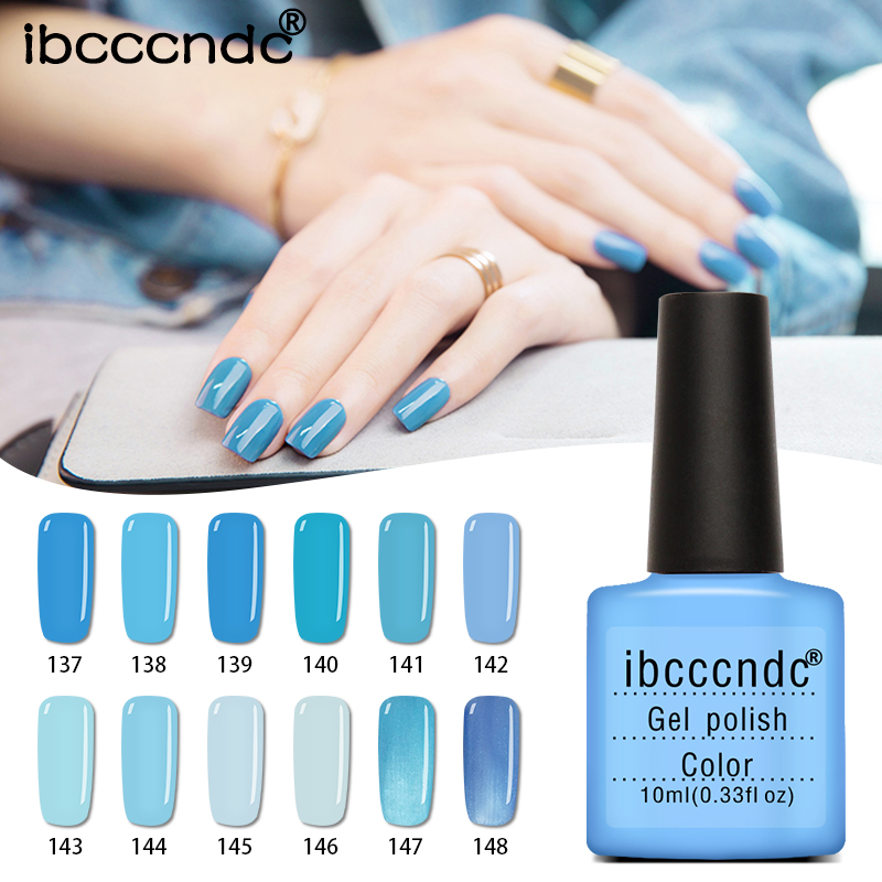 12pcs/lot UV Gel Nail Polish Sky Blue Series Gel Vernis Semi Permanent Nail Primer Gel Varnishes Lacquer Gelpolish with Gift Box 12pcs lot green series uv gel nail polish led lamp gel lacquer gel polish vernis semi permanent gel varnish nail primer base top