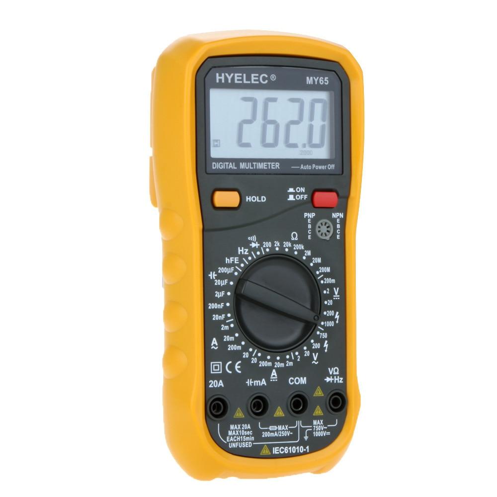 Digital Multimeter AC/DC Voltage Current Resistance Capacitance Frequency Tester Ammeter Multitester