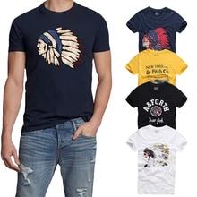 21 цвет Высокое качество AFS Летняя мужская футболка хлопок короткий рукав Футболка Hollistic мужская S-3XL одежда футболка