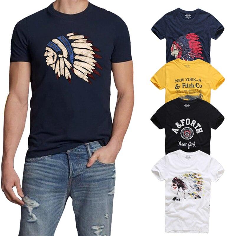 21 Colors TOP Quality AFS Summer Men T-shirt 100% Cotton Short Sleeve T Shirt Hollistic Men S-3XL Clothing Tshirt Homme