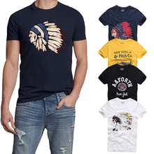 21 Colors TOP Quality AFS Summer Men T-shirt 100% Cotton Short Sleeve T Shirt Hollistic S-3XL Clothing Tshirt Homme