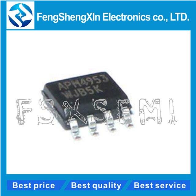 500 cái/lốc Mới APM4953 4953 Kép P Channel Enhancement Chế Độ MOSFET SOP 8