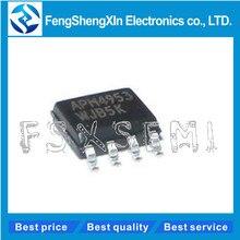 500 pçs/lote Novo APM4953 4953 Dual Channel Enhancement Modo MOSFET SOP 8