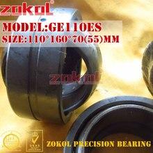 Zokol подшипник GE110ES Радиальные сферические подшипник 110*160*70 (55) мм