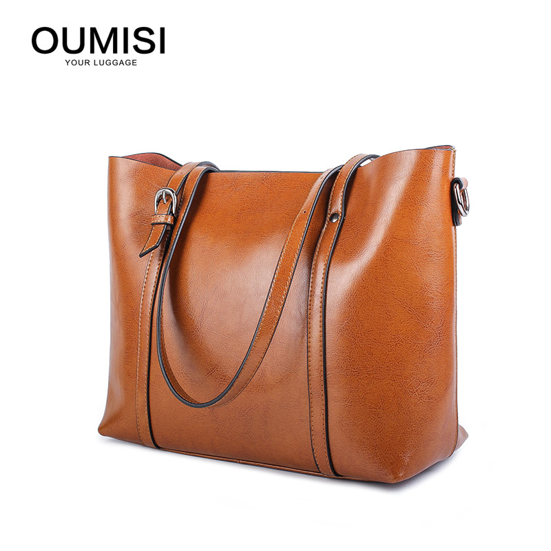 Real Cow Leather Ladies HandBags Women Genuine Leather bags Totes Messenger Bags Hign Quality Designer Luxury Brand Bag 6101
