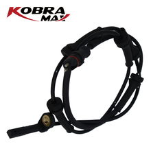 KobraMax ABS Wheel Speed Sensor Front for Renault Laguna Wagon 1.6-3.0L 1993-2001 7700416066 kobramax abs wheel speed sensor front left right for renault clio ii box symbol i 1 2 1 4 1 5 1 6 7700411747