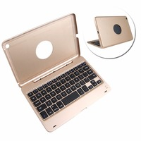 Wireless Bluetooth Keyboard Aluminum Magnetic Cover Stand For IPad Mini 1 2 3